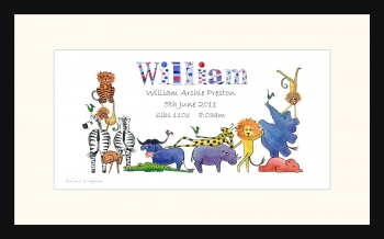 Wild Animals - Boys