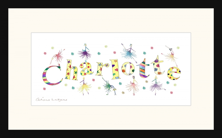 Personalised Name picture for Charlotte