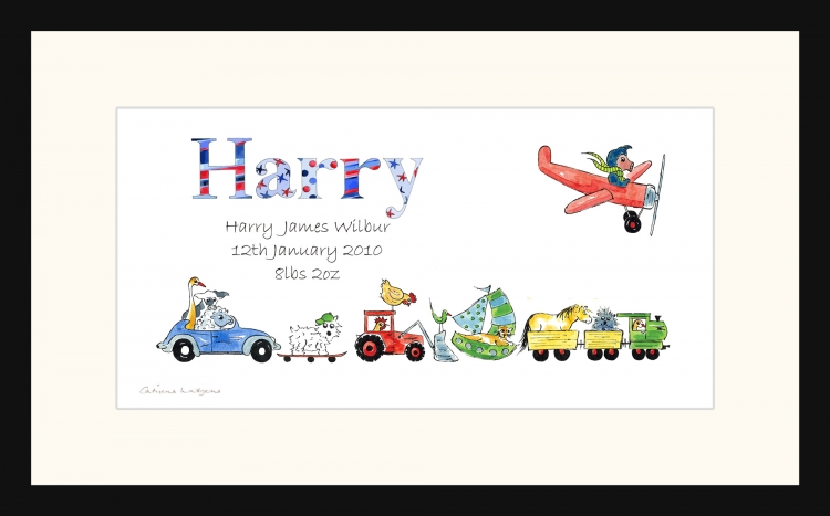 Personalised Personalised Christening picture for Harry