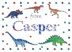 Personalised Personalised postcard for Casper