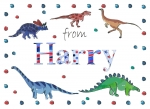 Personalised Personalised postcard for Harry