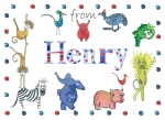 Personalised Personalised postcard for Henry
