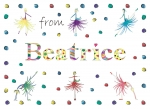 Personalised Personalised postcard for Beatrice